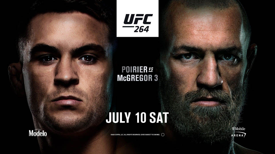 UFC264前瞻:普瓦里尔VS康纳上演史诗级三番对决