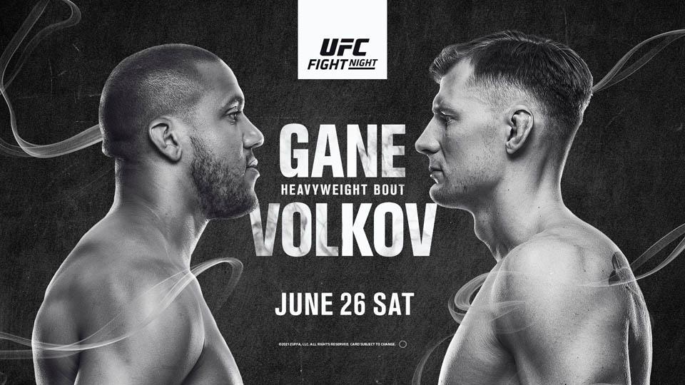 UFC格斗之夜:盖恩VS沃尔科夫赛事前瞻