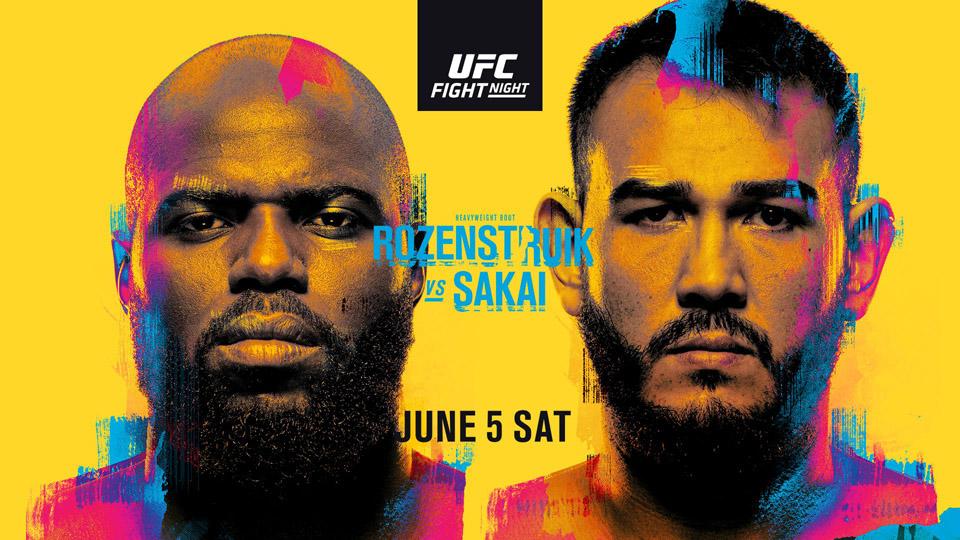UFC格斗之夜:罗森斯楚克 VS 萨凯赛事前瞻